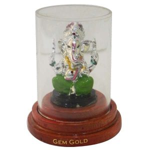 Ganesh Idol Wooden Base