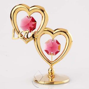 Gold Heart with Love